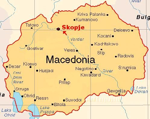 Karty Makedonii Makedonya Ru